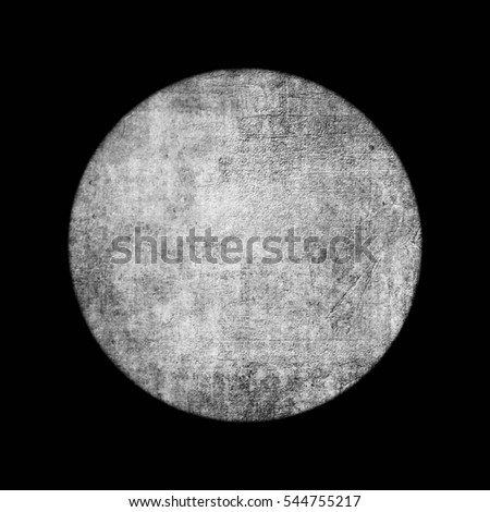 Grunge circle background. Amazing texture of circular form.
