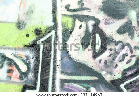 Grunge colorful background painted wall
