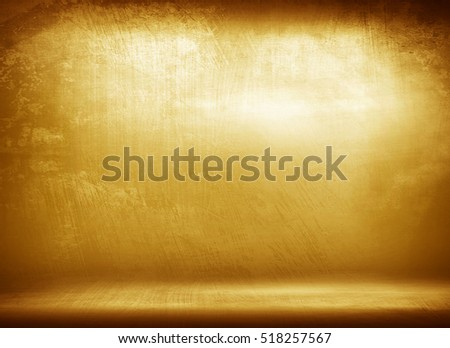 grunge golden plate background