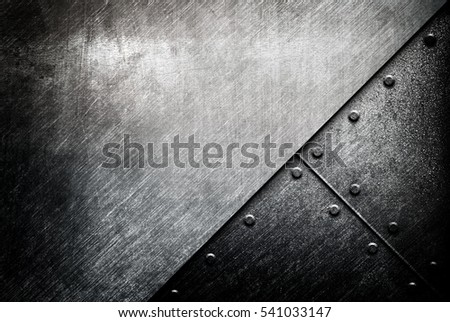 grunge of metal design background