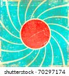 Grunge swirl background - stock