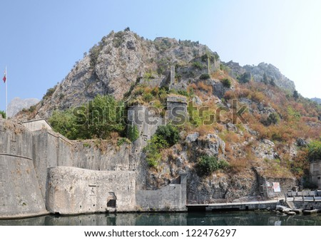 Gurdich Bay of Kotor Castle