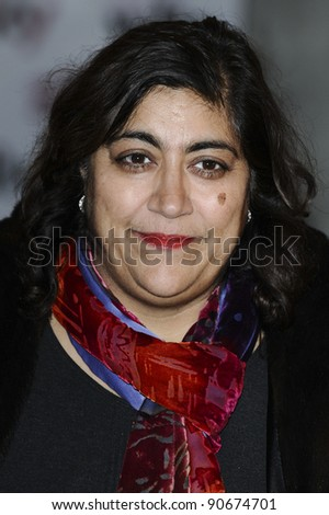 Gurinder Chadha arriving for the Women in Film and TV Awards 2011 at the Park Lane Hilton Hotel, London. 02/12/2011 Picture by: Steve Vas / Featureflash
