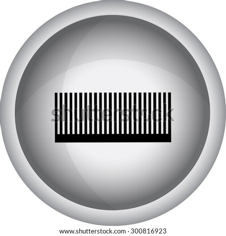 Hairdressing objects icon.