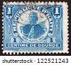 HAITI - CIRCA 1906: a stamp printed in Haiti shows Pierre Nord Alexis, 19th President of Haiti 1902 - 1908, circa 1906 - stock photo