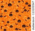 Halloween background. illustration - stock photo