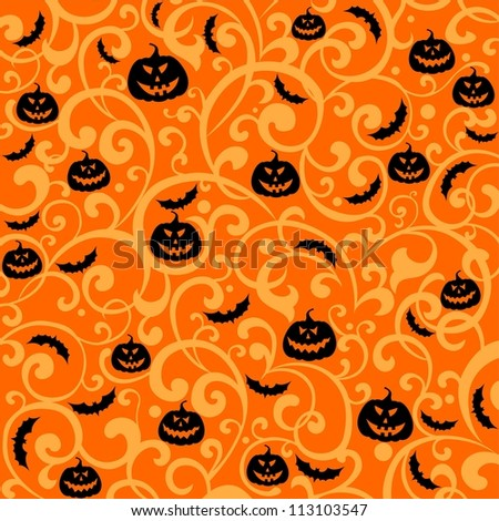 Halloween background. illustration