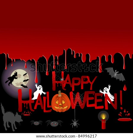 Halloween background with place for your text.