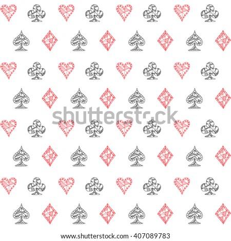 Blackjack card patterns