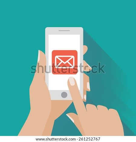 how to send email using smartphone