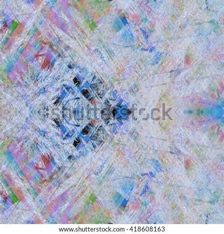 Handmade grunge abstract texture