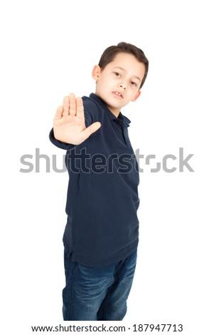 Young Boy White Shirt Black Tie Stock Photo 304527218 ...