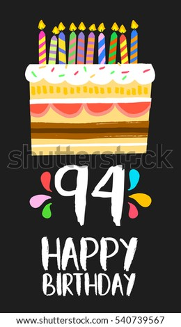 Art Cake Kuwait Number : Happy Birthday Number 70 Greeting Card Stock Vector ...