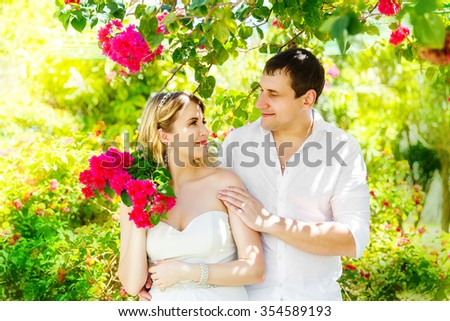 Picturesque Wedding Ceremony On Tropical Beach Purple Stock Photo   With Exciting Happy Blond Bride And Groom Having Fun On A Tropical Garden Wedding And  Honeymoon On With Astounding Garden Tile Also Garden Centre Sleaford In Addition Hanging Solar Garden Lights And Kyoto Garden Los Angeles As Well As Gravel Gardens Additionally Highclere Castle Gardens From Shutterstockcom With   Exciting Wedding Ceremony On Tropical Beach Purple Stock Photo   With Astounding Happy Blond Bride And Groom Having Fun On A Tropical Garden Wedding And  Honeymoon On And Picturesque Garden Tile Also Garden Centre Sleaford In Addition Hanging Solar Garden Lights From Shutterstockcom
