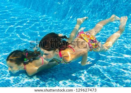 Little girl life jacket swimming swimming stock photo - Swimming pool girl christmas vacation ...