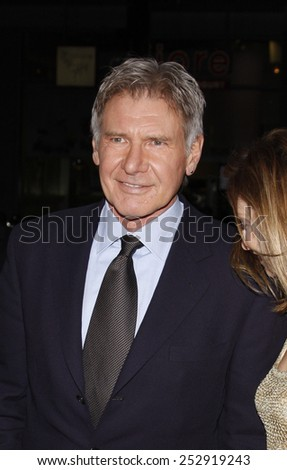 "Harrison Ford at the Los Angeles Premiere of ""Extraordinary Measures"" held at the Grauman's Chinese Theater in Hollywood, California, United States on January 19, 2010."