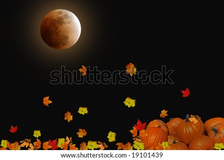harvest moon falling leaves
