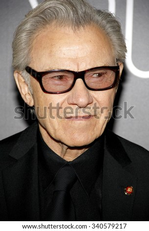 Harvey Keitel at the Los Angeles premiere of 'Youth' held at the DGA Theatre in Hollywood, USA on November 17, 2015.