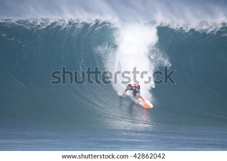 HAWAII- DECEMBER 12: Bruce Irons competes in the Billabong Pipemasters Dec. 10, 2009 in Hawaii.