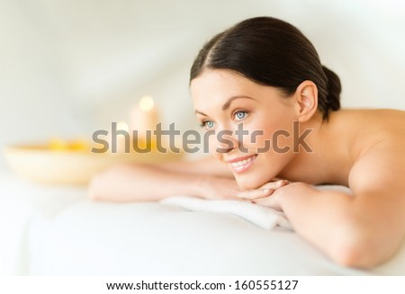 health beauty resort relaxation concept woman stock photo 188606882 shutterstock. Black Bedroom Furniture Sets. Home Design Ideas