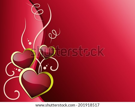 Hearts Background Meaning Romanticism  Passion And Love