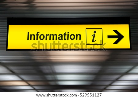 Lost Found Sign Airport Stock Photo 532301992 Shutterstock