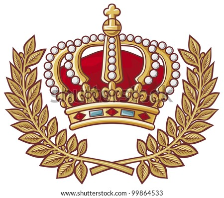 Royal Crown Symbol Stock Vector 75409144 - Shutterstock