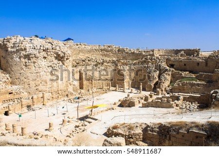 Herodium, The Tomb of Herod the Great in West Bank.