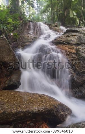 beautiful soft waterfall in - photo #7