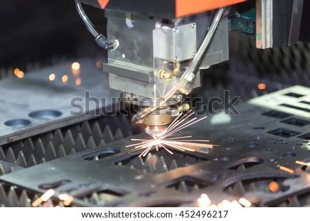 High Precision Cnc Gas Cutting Metal Stock Photo 432408952