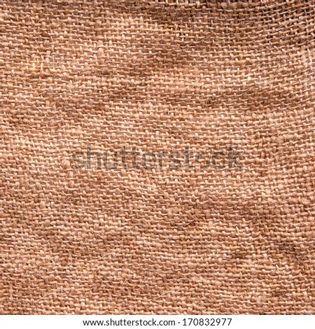 High resolution brown creased canvas texture