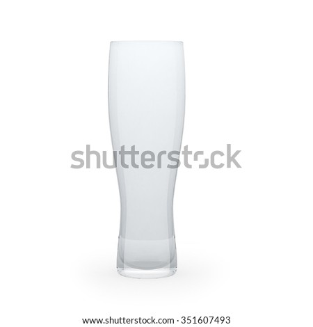 High tumbler isolated on a white background