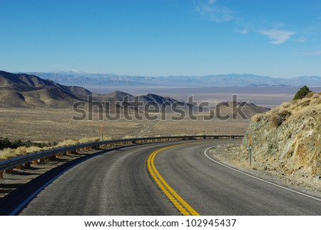 Highway 844, Nevada