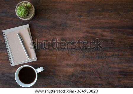 White Office Desk Table Things On Stock Photo 372976486 Shutterstock