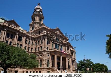 Historic Tarrant County Courthouse, Fort Worth, Texas