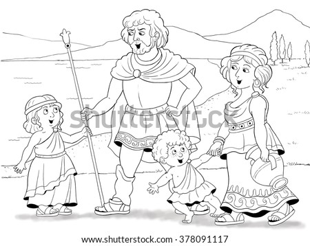 History Of Family Fashion In Ancient Greece Father Mother