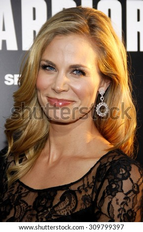 HOLLYWOOD, CA - SEPTEMBER 06, 2011: Brooke Burns at the Los Angeles premiere of 'Warrior' held at the ArcLight Cinemas in Hollywood, USA on September 6, 2011.