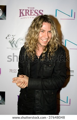HOLLYWOOD - FEB 06:  Joshua Kennedy attends American Voodoo Records' Pre-Grammy's celebration at the Kress on February 6, 2009 in Hollywood California