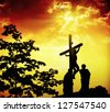 Holy week - stock photo