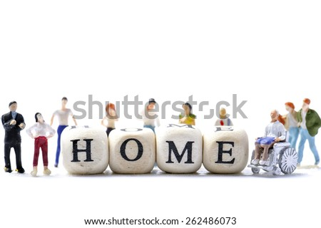 Home and alphabet