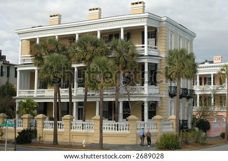 Home in Charleston, South Carolina historic district
