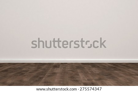 light wood floor perspective. Home Interior Of Empty Room With Plain Undecorated Beige Painted Wall And Light Colored Hard Wood Floor Perspective
