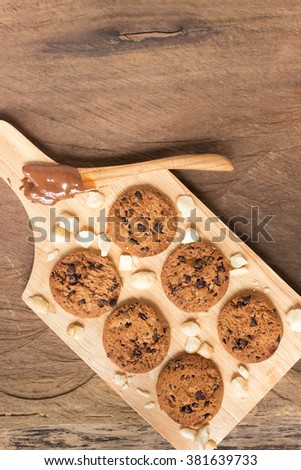 Food And Drink Chocolate Macadamia Nut Crunch