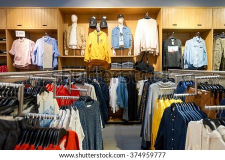 Its fashion clothing store
