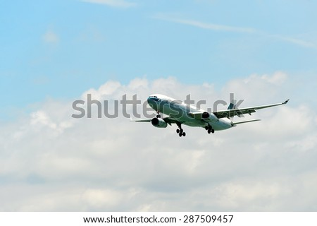 Saintpetersburg russia july 04 2016 airbus stock photo 548620036 shutterstock - Cathay pacific head office ...