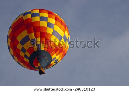 Hot Air Balloon at the Carolina Balloon Festival, Statesville, North Carolina, USA