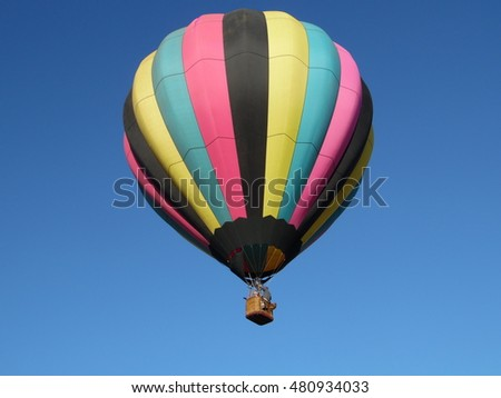Hot air balloon event