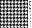 houndstooth seamless pattern. Fabric background - stock vector