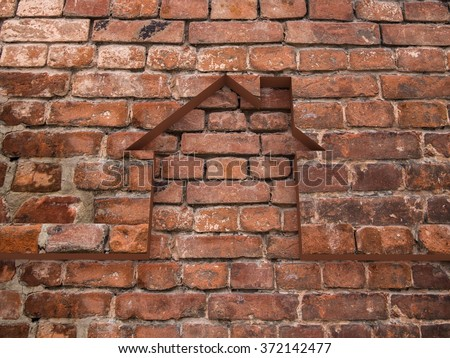 House bricks background