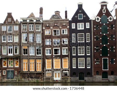 houses along an Amsterdam canal